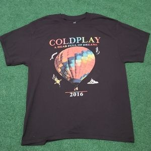 Coldplay 2016 tour tee